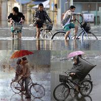 Советы по езде на велосипеде в дождливые дни.